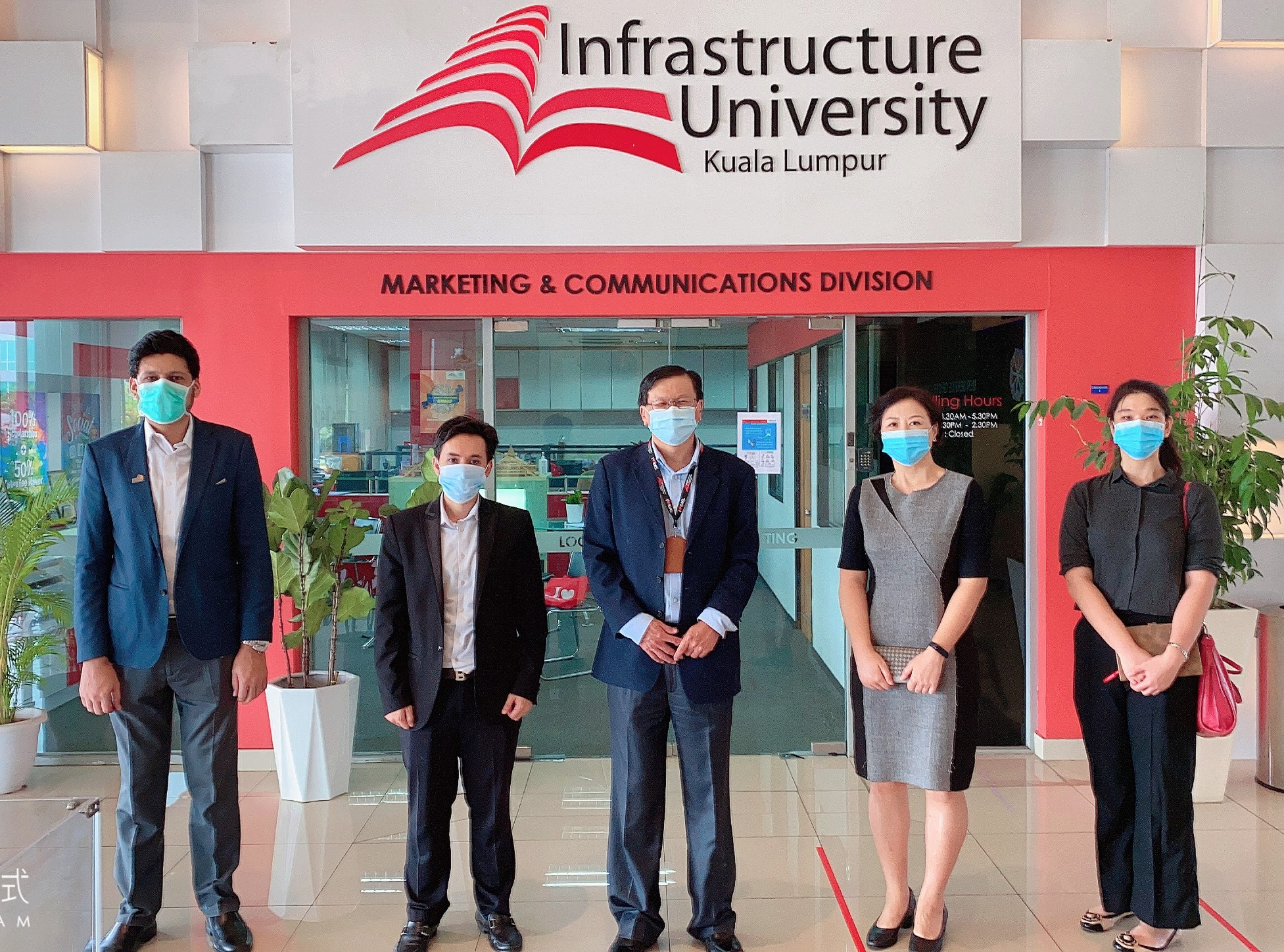 Emgs Visits Infrastructure University Kuala Lumpur Iukl To Discuss On The International Students Projects Education Malaysia Global Services