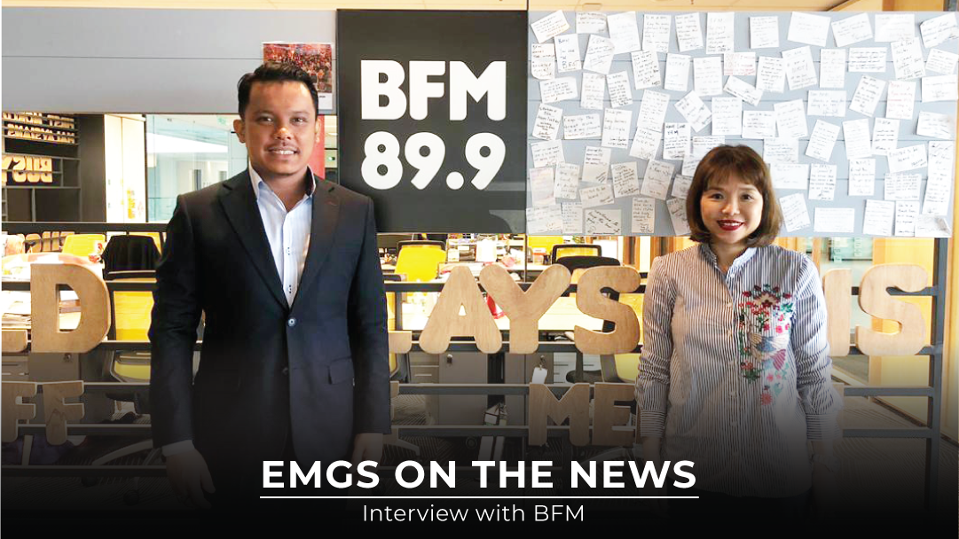 An Exclusive Interview Session With Emgs Ceo On Bfm 89 9 The Business Station Education Malaysia Global Services